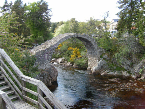 Packhorse Bridge in Carrbridge